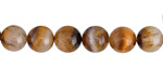 Golden Wooden Jasper Round 8mm