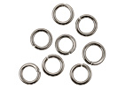Gunmetal Round Jump Ring 6mm, 18 gauge