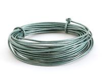 Metallic Sea Mist Round Leather Cord 1.5mm, 16 feet