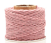 Dusty Pink Hemp Twine 20 lb, 205 ft