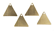 Vintaj Vogue Triangle Blank 16x14mm