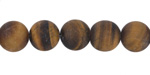 Tiger Eye (matte) Round 10mm