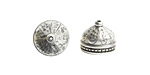 Nunn Design Antique Silver (plated) Ornate Tassel Cap 12x10mm