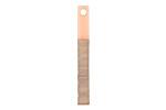 Wood & Angel Pink Resin Stick Drop 3.5x30mm