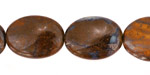 Boulder Opal Flat Oval 20x15mm