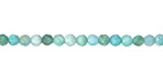 Brazil Amazonite Faceted Round 3.5-4mm