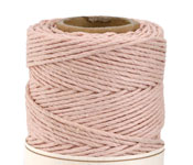 Powder Pink Hemp Twine 20 lb, 205 ft