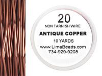 Parawire Antique Copper 20 gauge, 10 yards