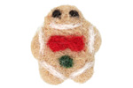 Felt Gingerbread Man 23x25mm