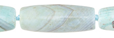 Aqua Terra Agate Rice 40-41x14mm