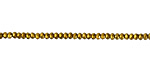 Antique Gold Crystal Faceted Rondelle 2mm