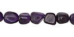 Amethyst Tumbled Nugget 8-10x6-8mm