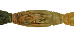 Antique Soochow Jade Carved Rice 35-36x12mm