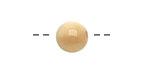 Tagua Nut Parchment Round 11-12mm