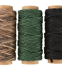 Moonlight Sail Hemp Twine 20 lb, 29.5 ft x 3 colors