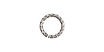 Nunn Design Antique Silver (plated) Textured Jump Ring 12mm