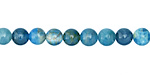 Pacific Blue Apatite Round 6mm