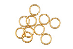 Gold (plated) Round Jump Ring 8mm