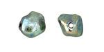 XAZ Raku Elusive Green Small Nugget 12-14mm