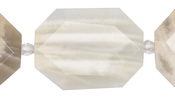 Moonstone Faceted Flat Slab 28-38x22-30mm