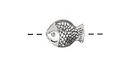 Zola Elements Antique Silver (plated) Sunfish 14.5x11mm