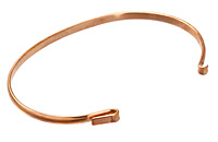 Copper Link Bangle 6 inches