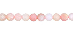 Pink Opal Faceted Round 5-5.5mm