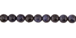 Blue Goldstone Faceted Round 6mm