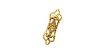Stampt Antique Gold (plated) Fairy Door Link 18x6mm