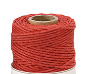 Red Hemp Twine 48 lb, 205 ft