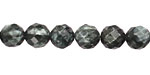 Seraphinite Faceted Round 8mm