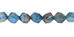 Larimar Blue Crazy Lace Agate Star Cut Round 8mm