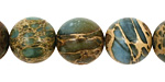 Blue Impression Jasper Round 14mm