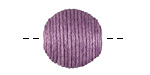 Lavender Thread Wrapped Bead 18mm