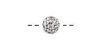 Crystal Pave (w/ Preciosa Crystals) Round 8mm
