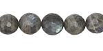 Labradorite (A) Faceted Round 10mm