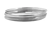 Remembrance Stainless Steel Memory Wire Bright Bracelet .25 oz.