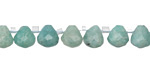 Brazil Amazonite Faceted Teardrop 7mm