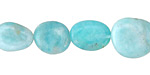 Peruvian Amazonite Pebble 11-14x10-12mm