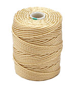 C-Lon Wheat Tex 400 (1mm) Bead Cord