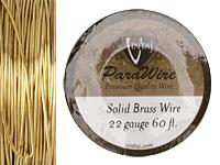 Vintaj Solid Brass Wire 22 gauge, 60ft.