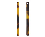 Zola Elements Tortoise Shell Matte Acetate Stick Drop 3x39mm