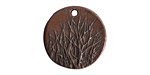 Nunn Design Antique Copper (plated) Rocky Mountain Charm 20mm