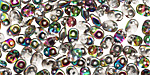 Crystal/Vitral SuperDuo 2x5mm Seed Bead