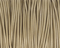 Beach Round Leather Cord 2mm