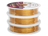 Soft Flex Trios Extreme 24K Gold Assorted Sizes Wire 3x10ft.