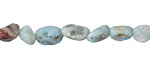Larimar Mini Tumbled Nugget 5-8mm