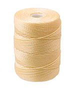 C-Lon Cream (.5mm) Bead Cord