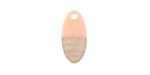 Wood & Angel Skin Resin Oval Focal 8.5x17mm