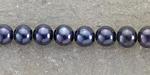Midnight Blue Freshwater Potato Pearl 6-7mm